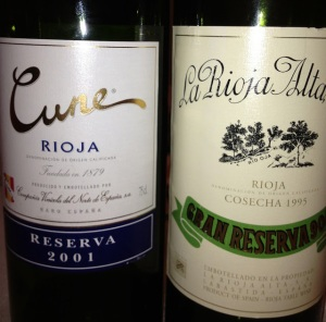 Rioja wine_Serrano Tasting 5-2013