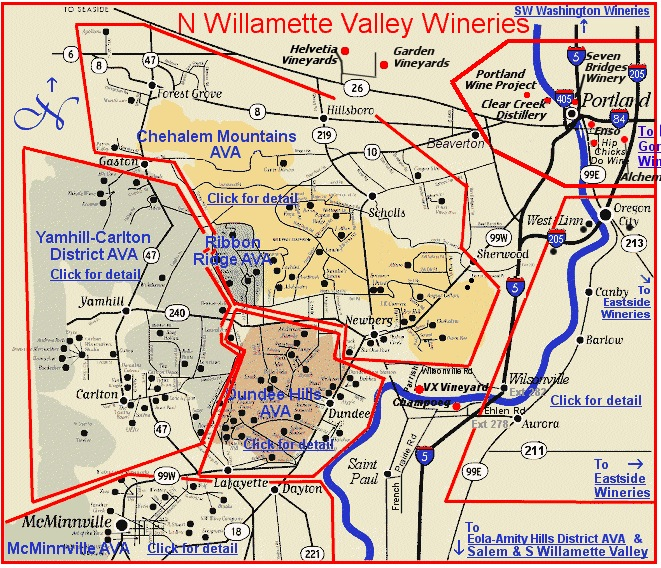 W Valley Map